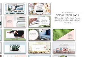 Facebook Social Media Pack Vol 1