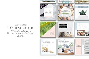 Instagram Social Media Pack Vol 1