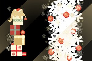 Christmas decoration (vector pack)