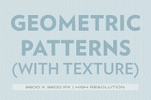 Geometric patterns (with texture)