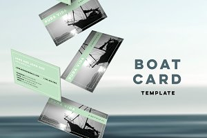 Boat Card Template