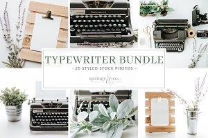 Typewriter Stock Photo Bundle