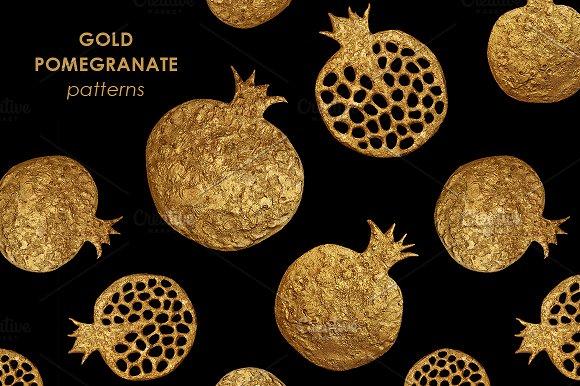 GOLD POMEGRANATE Set
