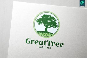 GreatTree Logo Design