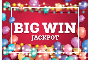 Big Win Jackpot Banner