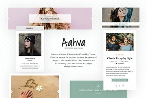 Aahva - WordPress Blog Theme