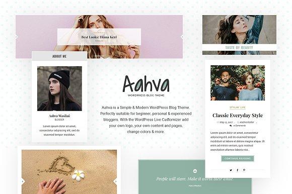 Aahva WordPress Blog Theme