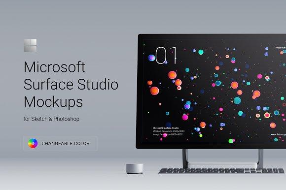 Presentation Kit Surface Studio