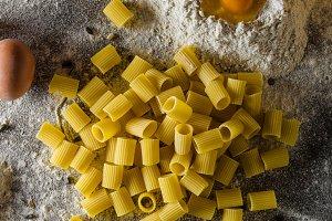 Homemade pasta bio