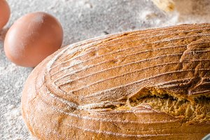 Sourdough bread cumin