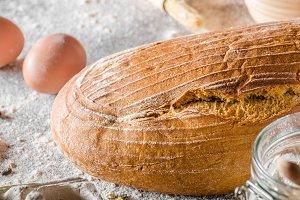 Sourdough bread cumin