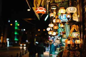 Ottaman lamps from Grand Bazaar