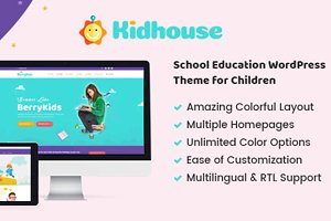 KidHouse - Education WordPres Theme