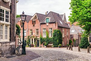 Street in Utrecht, Netherlands