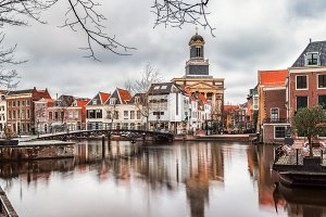 Architecture in Leiden, Netherlands