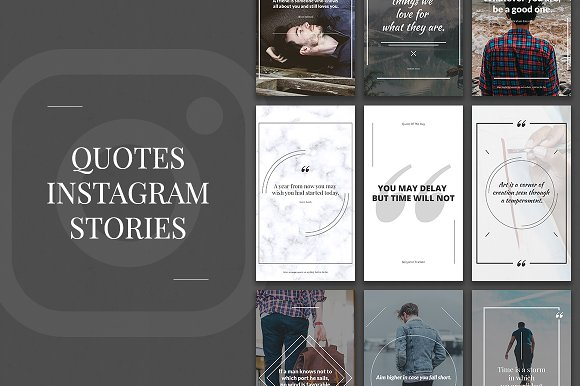 30 Off Quotes Instagram Stories Instagram Templates Creative Market