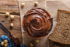 Hazelnut spread delicious