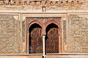 the Puerta del Vino, Alhambra
