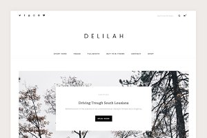 Delilah - A WordPress Blog Theme