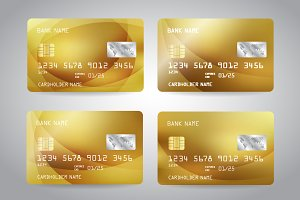 Golden Card, Credit Card Templates