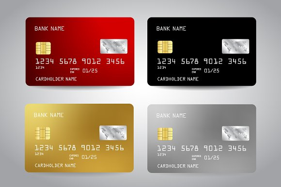 Credit Cards Templates