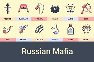 Icons Russian Mafia.
