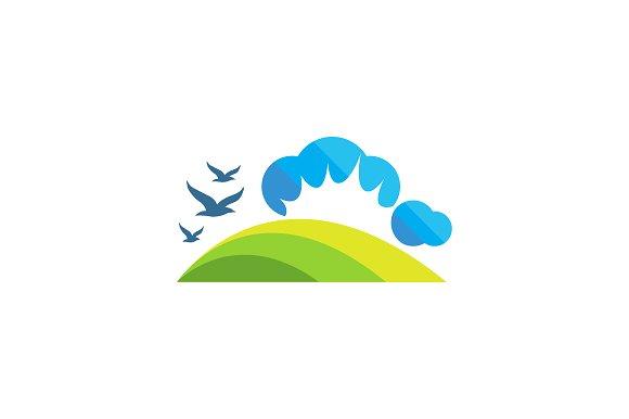 Land Logo Landscape