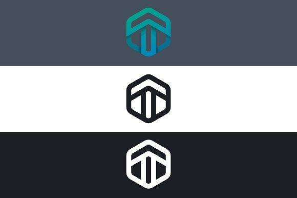 Arrow Logo T Letter