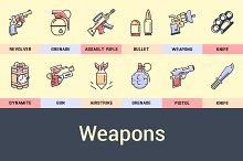 Weapons Icons.