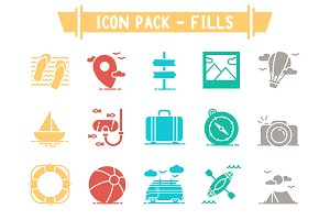 Icon Pack - Fills