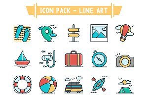 Icon Pack - Line Art