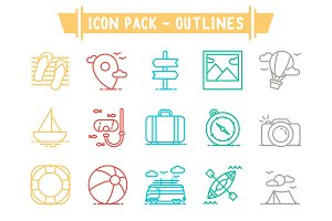 Icon Pack - Outlines