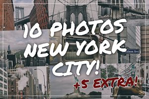 New York photo pack 2017 + 5 EXTRA