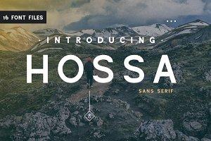 Hossa - 16 Font Family