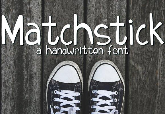 Matchstick Font