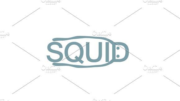 Squid Logo Template