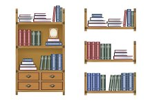 Bookcase illustration