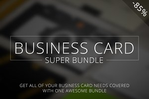 Business Card: Super Bundle [-85%]