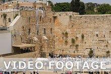 Western Wall in Jerusalem Jewish sacred place