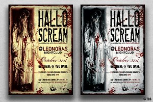 Halloween Flyer Template V18