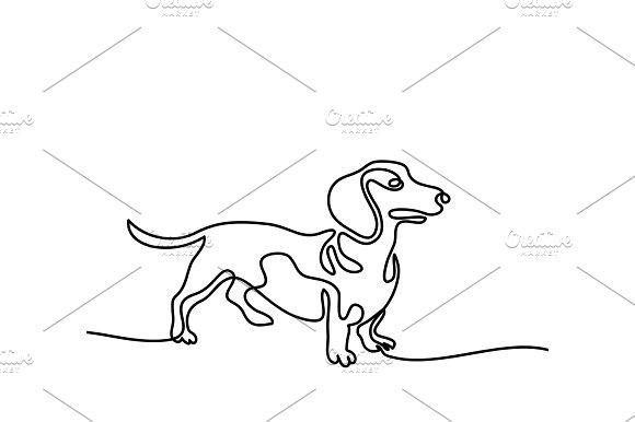 Dog Jumping And Playing