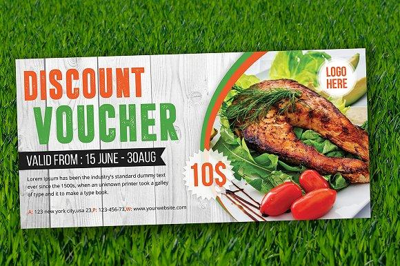 Discount Voucher-Graphicriver中文最全的素材分享平台
