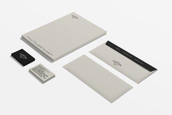 Signature Stationery ID Kit