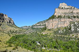 Tensleep Canyon Wyoming