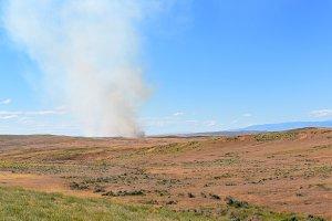 Prairie Fire Wyoming