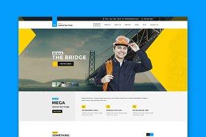Mega Architecture - HTML Template