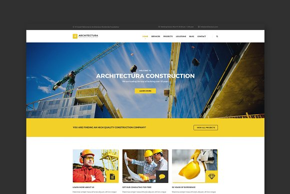 Architectura Construction Template