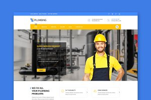 Handyman HTML Template