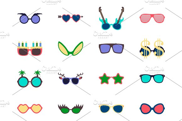 Vector Sunglasses Set