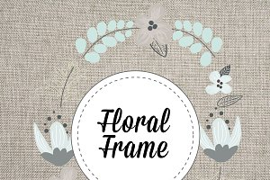 Floral Frame Vector & PNG